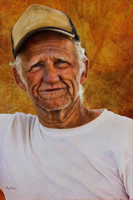 Photograph - Portrait - Americana - Working Man by Barry Jones
