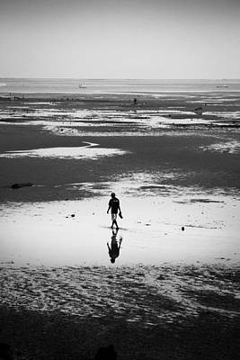 Fishermen Photograph - Working Man by S Rodriques