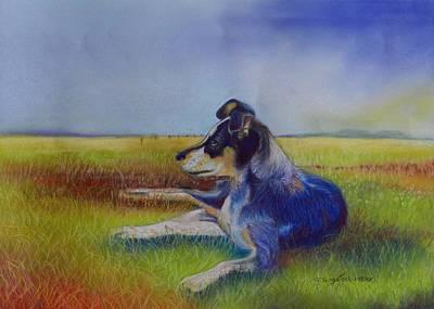 Working Man's Dog Original by Sandra Sengstock-Miller