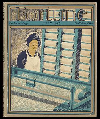 Working On A Cotton Loom          Date Art Print by Mary Evans Picture Library