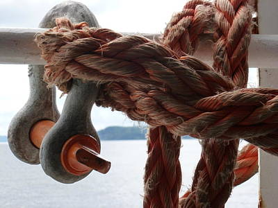 Photograph - Working Rope by Christine Burdine