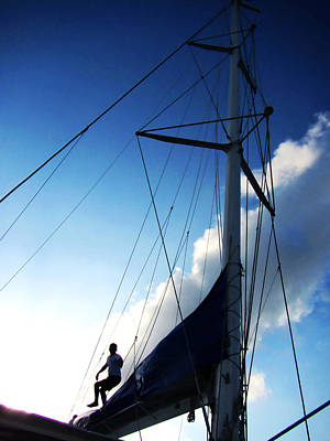 Photograph - Working Sailor by Marilyn Hunt