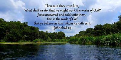 Works Of God Art Print