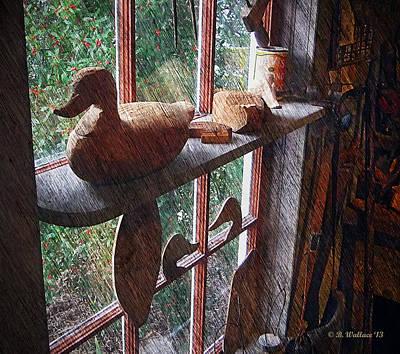 Workshop Window Art Print by Brian Wallace