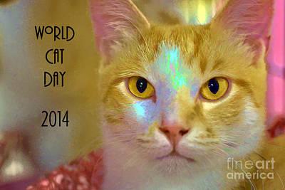 Photograph - World Cat Day by Susan Warren