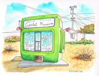 World Famous Crochet Museum In Joshua Tree - California Original