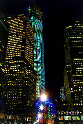 World Financial Center Art Print by Mariola Bitner