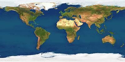 World Map Caspian Sea.Caspian Sea Art Fine Art America