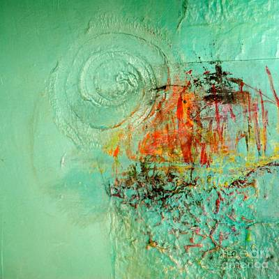 Impressionist Mixed Media - World Of Swirl by Lisa Schafer
