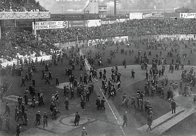 Philadelphia Athletics Photograph - World Series, 1913 by Granger