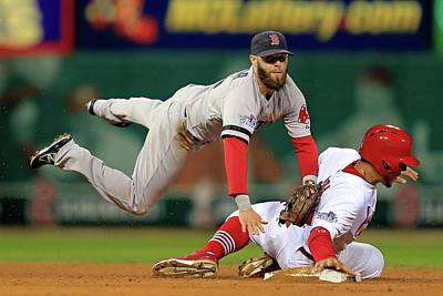 Photograph - World Series - Boston Red Sox V St by Dilip Vishwanat