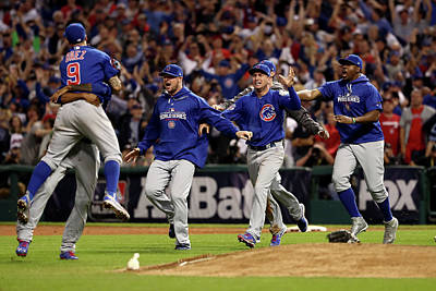 Photograph - World Series - Chicago Cubs V Cleveland by Elsa