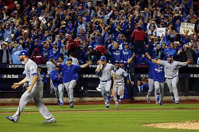 Photograph - World Series - Kansas City Royals V New by Elsa