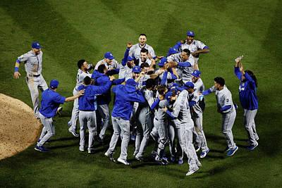 Photograph - World Series - Kansas City Royals V New by Tim Bradbury