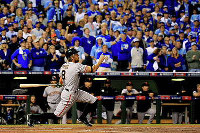 Photograph - World Series - San Francisco Giants V by Rob Carr