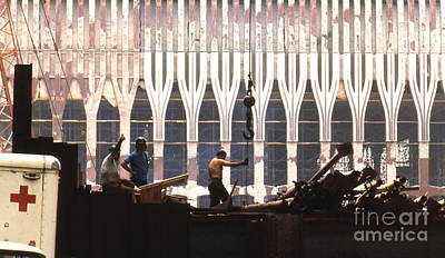 Photograph - World Trade Center 1970 by Erik Falkensteen