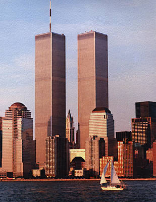 World Trade Center 1999 Art Print