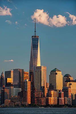 World Trade Center And Lower Manhattan Art Print