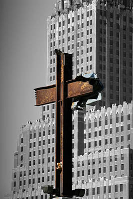 World Trade Center Cross New York Original by Mathew Lodge