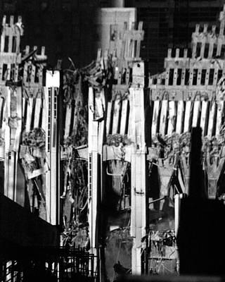9 11 01 Photograph - World Trade Center Ground Zero by Frank Morea