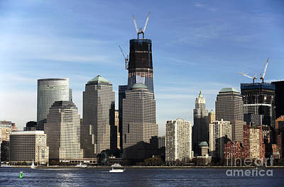 Photograph - World Trade Center Rebirth Color by John Rizzuto