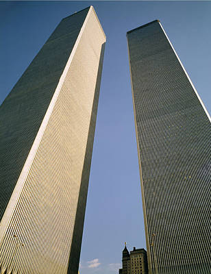 Photograph - World Trade Towers by Ed  Cooper Photography