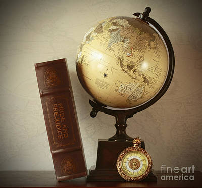 World Travel And Vintage Moments Art Print by Inspired Nature Photography Fine Art Photography