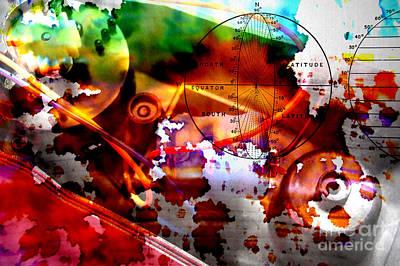 Accounting Mixed Media - World Viewpoint by R Kyllo
