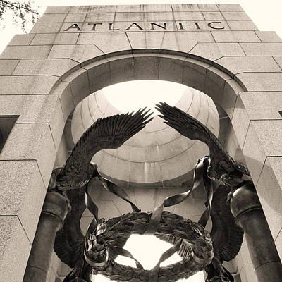 Water Droplets Sharon Johnstone - World War 2 Atlantic Memorial by Joseph Hedaya