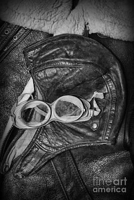 World War 2 Bomber Flight Gear Art Print by Paul Ward