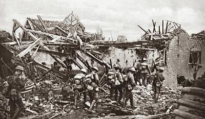 Ally Photograph - World War I Allied Patrol by Granger