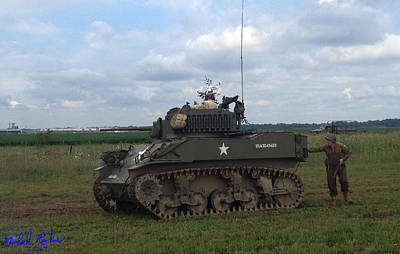 World War II American Tank Original