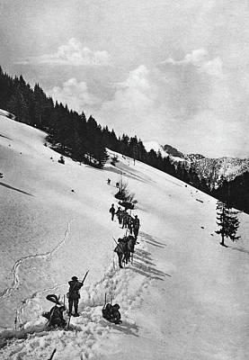 World War I Chasseur Art Print