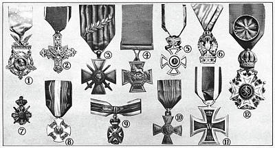Iron Cross Painting - World War I Decoration by Granger