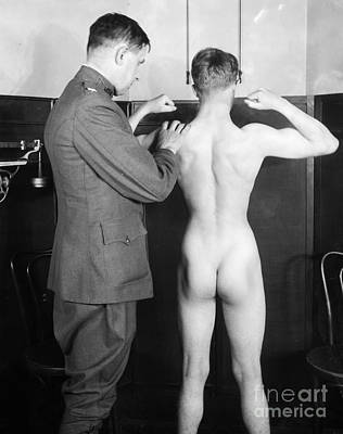 Photograph - World War I: Examination by Granger