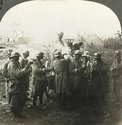 Painting - World War I Field Kitchen by Granger