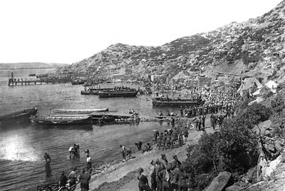Photograph - World War I Gallipoli - To License For Professional Use Visit Granger.com by Granger
