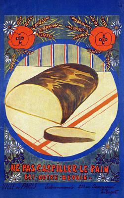 World War I Poster, 1916 Art Print