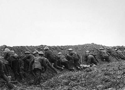 Somme Photograph - World War I Somme, 1916 by Granger