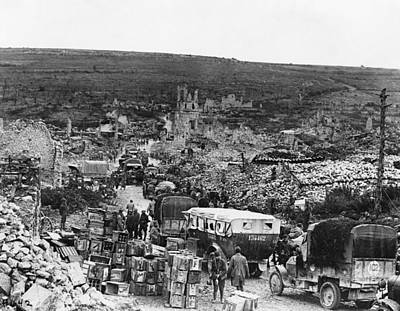 Photograph - World War I Transport - To License For Professional Use Visit Granger.com by Granger