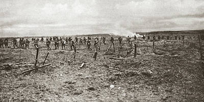 Photograph - World War I Vimy Ridge by Granger