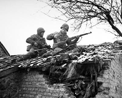 Photograph - World War II: Belgium by Granger
