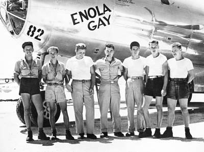 Photograph - World War II: Enola Gay by Granger
