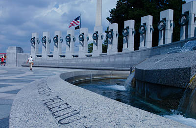 Photograph - World War II Memorial by MLEON Howard