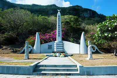 Mariana Photograph - World War II Memorial, Saipan, Northern by Michael Runkel