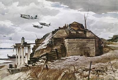 Photograph - World War II: Normandy by Granger