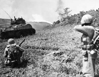Photograph - World War II: Okinawa by Granger