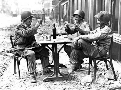 Photograph - World War II: Paris, 1944 by Granger