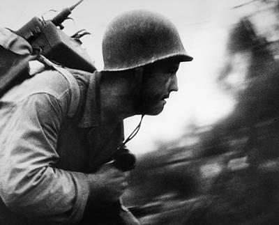 Photograph - World War II: Peleliu by Granger