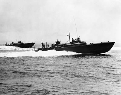 Photograph - World War II: Pt Boat by Granger